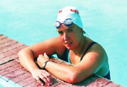 """""""Me dije 'si hay algo que presupone la natación de aguas abiertas es un naufragio, real o simbólico'""""."""