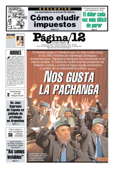Tapa de la fecha 15-03-2002