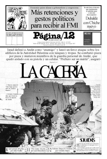 Tapa de la fecha 30-03-2002