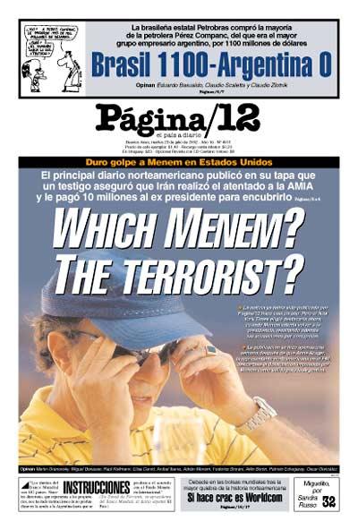 Tapa de la fecha 23-07-2002