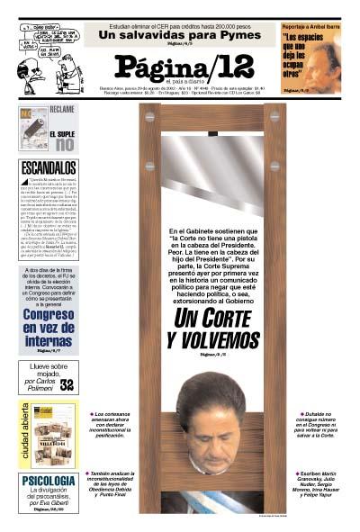 Tapa de la fecha 29-08-2002