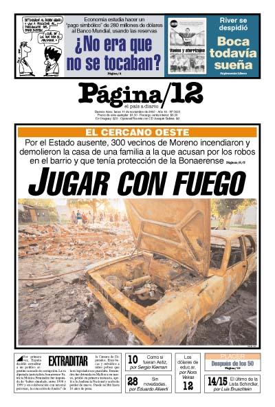 Tapa de la fecha 11-11-2002