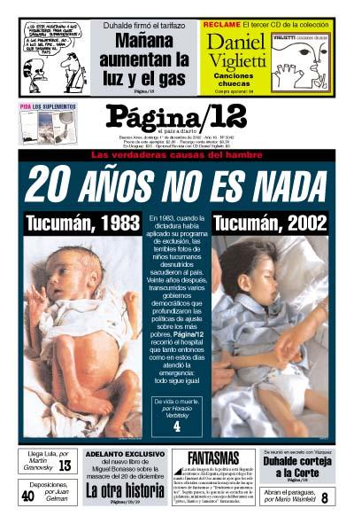 Tapa de la fecha 01-12-2002