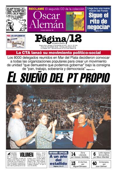 Tapa de la fecha 15-12-2002