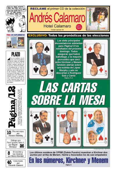 Tapa de la fecha 20-04-2003