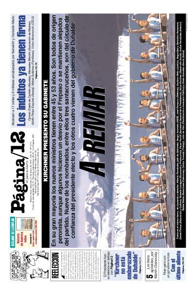 Tapa de la fecha 21-05-2003