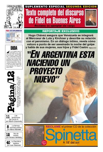Tapa de la fecha 01-06-2003