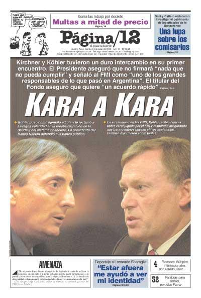 Tapa de la fecha 24-06-2003