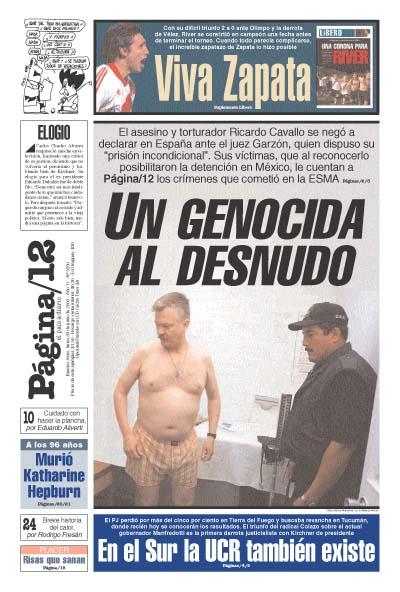 Tapa de la fecha 30-06-2003