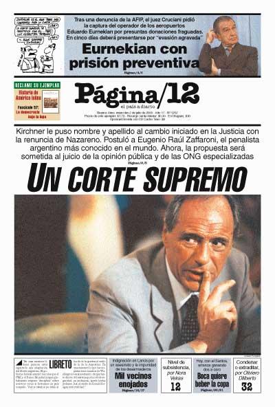 Tapa de la fecha 02-07-2003