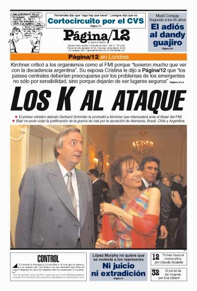 Tapa de la fecha 15-07-2003