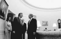 Kirchner y Bush