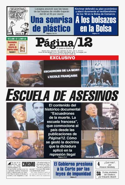 Tapa de la fecha 03-09-2003