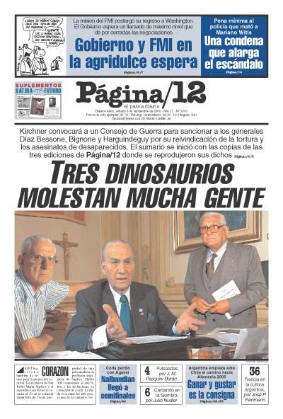 Tapa de la fecha 06-09-2003