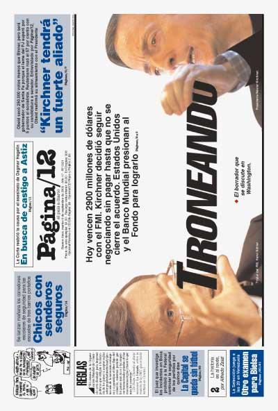 Tapa de la fecha 09-09-2003