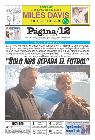 Tapa de la fecha 19-10-2003