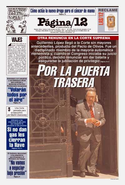 Tapa de la fecha 24-10-2003