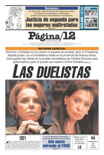 Tapa de la fecha 29-12-2003