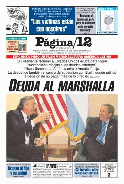 Tapa de la fecha 14-01-2004