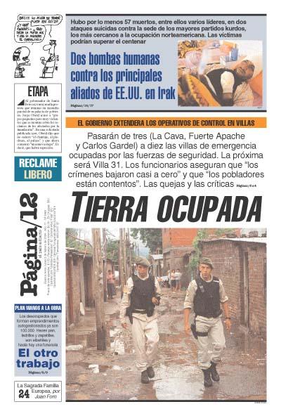 Tapa de la fecha 02-02-2004