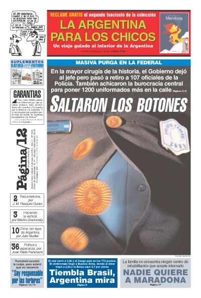 Tapa de la fecha 08-05-2004