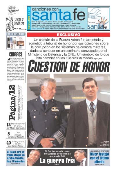 Tapa de la fecha 30-05-2004