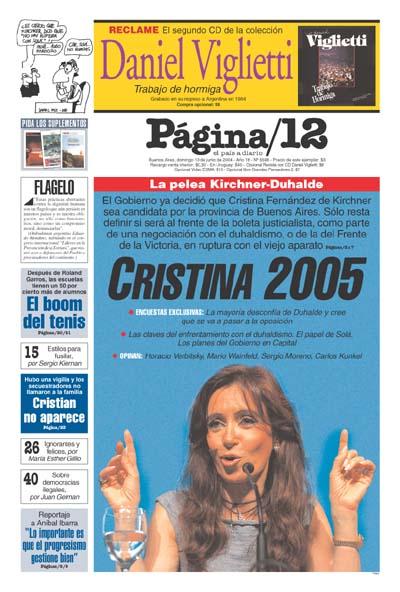 Tapa de la fecha 13-06-2004