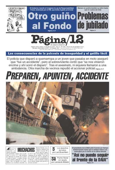 Tapa de la fecha 15-06-2004