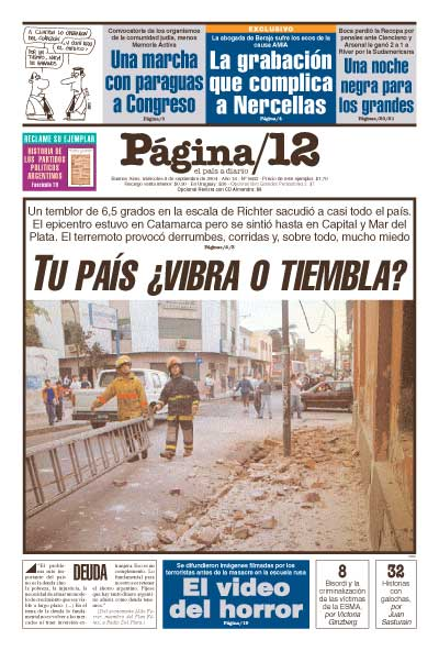 Tapa de la fecha 08-09-2004
