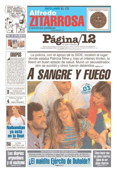 Tapa de la fecha 24-10-2004