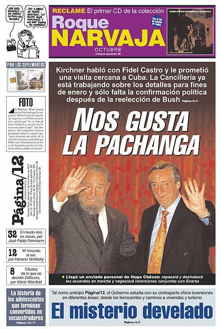 Tapa de la fecha 07-11-2004