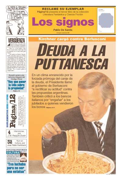 Tapa de la fecha 27-11-2004