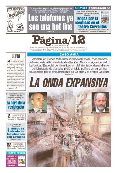 Tapa de la fecha 01-12-2004