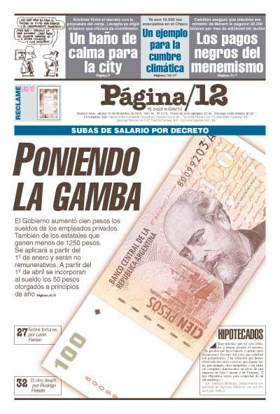 Tapa de la fecha 10-12-2004