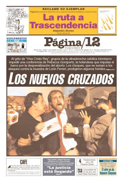 Tapa de la fecha 11-12-2004