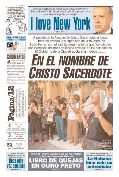 Tapa de la fecha 18-12-2004