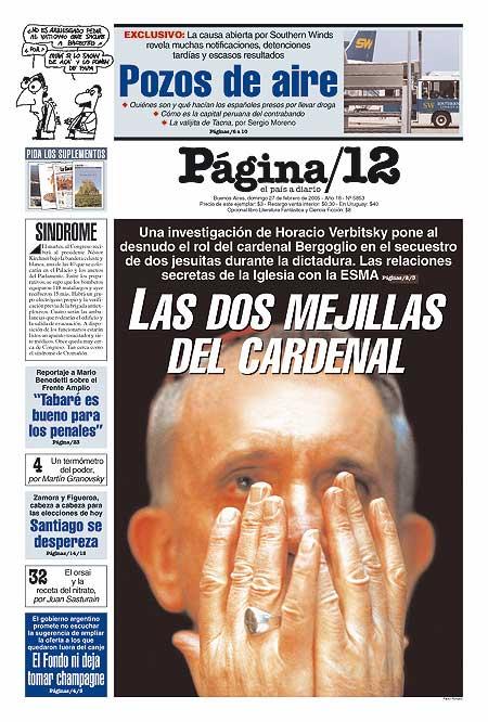 Tapa de la fecha 27-02-2005