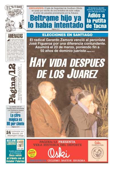 Tapa de la fecha 28-02-2005