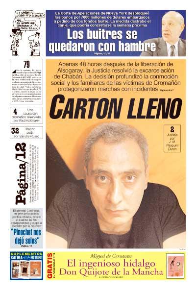 Tapa de la fecha 14-05-2005
