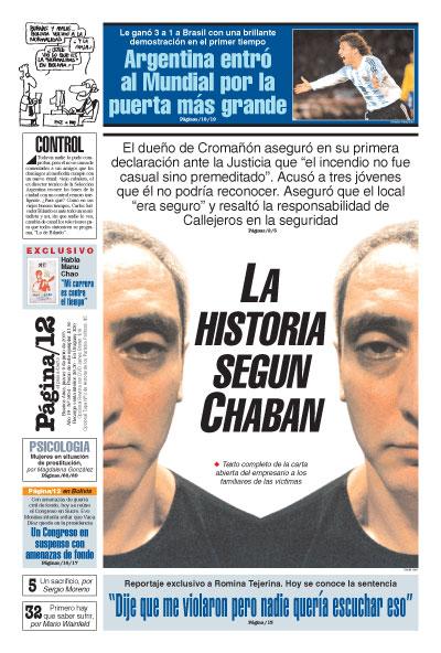 Tapa de la fecha 09-06-2005