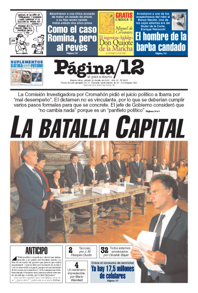 Tapa de la fecha 30-07-2005
