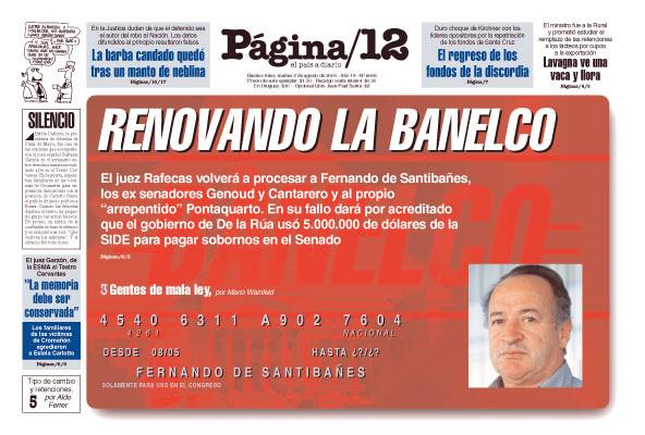 Tapa de la fecha 02-08-2005
