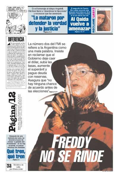 Tapa de la fecha 05-08-2005
