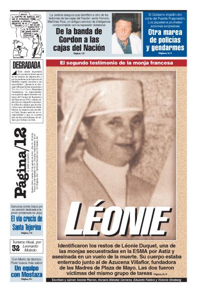 Tapa de la fecha 30-08-2005