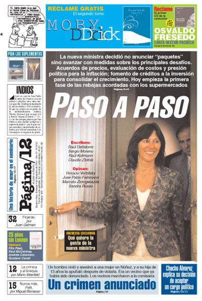 Tapa de la fecha 04-12-2005