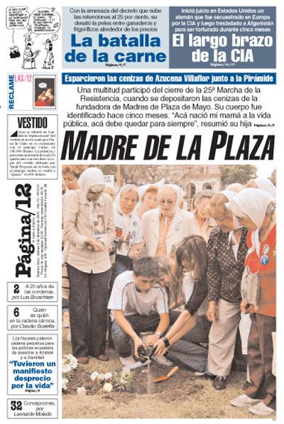 Tapa de la fecha 09-12-2005