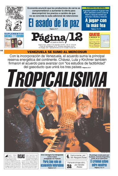 Tapa de la fecha 10-12-2005