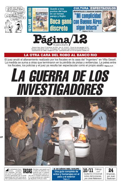 Tapa de la fecha 27-02-2006
