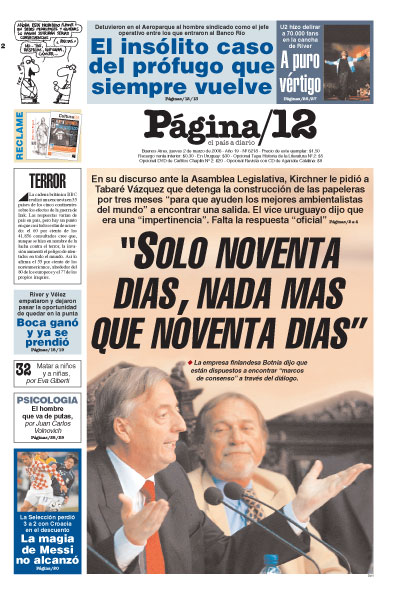 Tapa de la fecha 02-03-2006