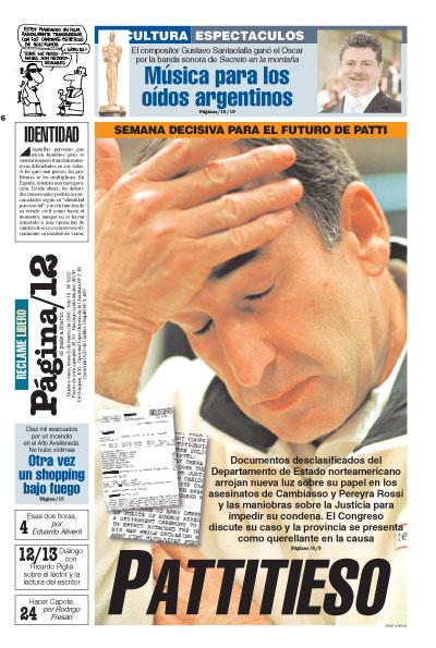 Tapa de la fecha 06-03-2006